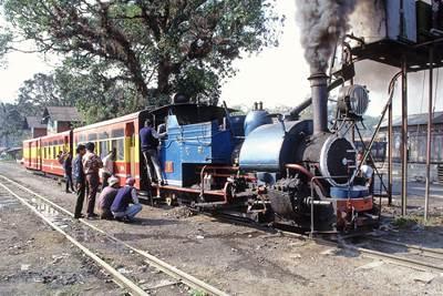 ダージリン鉄道,トイトレイン,インド,SL