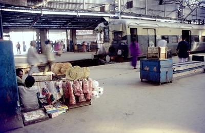 コルコタ,カルカッタ,駅,インド