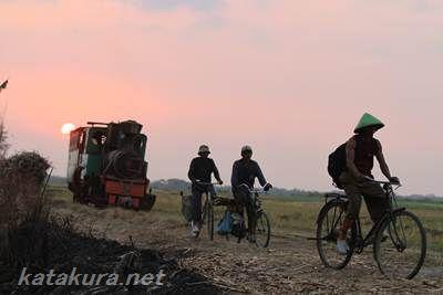スンブルハルジョ,シュガートレイン,音鉄,インドネシア