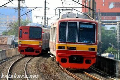 音鉄,ジャカルタ,電車