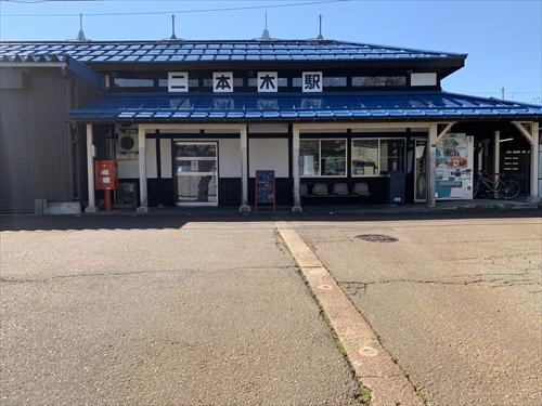 二本木駅,スイッチバック,信越本線,ときめき鉄道