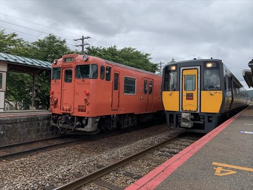 郡家駅,因美線,若櫻鐵道,日本鐵道,音鉄,音鐵