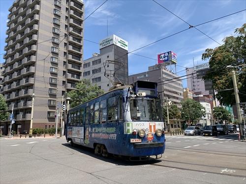 札幌市田,吊りかけ,路面電車,走行音,音鉄