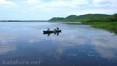 塘路湖,釧路湿原,カヌー
