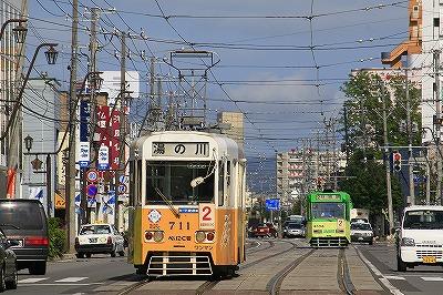 函館市電,路面電車,函館,北海道
