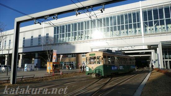 富山市内線,富山駅,吊り掛け