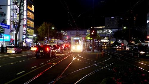 岡電,岡山駅前電停