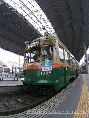 広電,京都市電,1908号,宇品港,広島電鉄,吊りかけ,音鉄