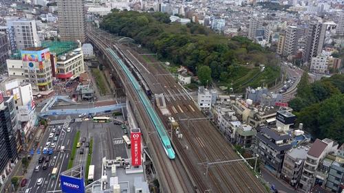 北とぴあ,新幹線