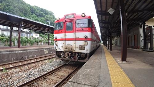 あつみ温泉駅,キハ47,羽越線