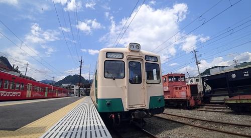 下仁田駅,上信電鉄