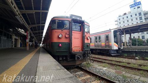 吉田駅,115系,越後線