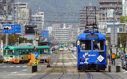 とさでん,高知,路面電車,tosaden,harimaya