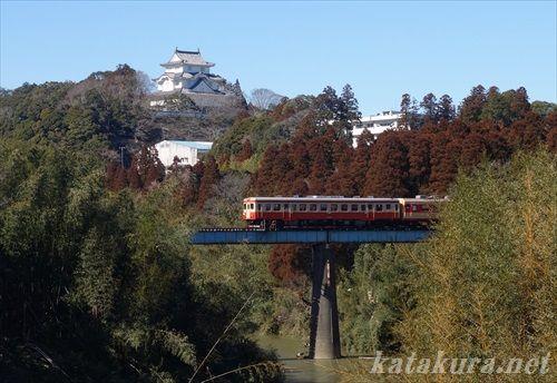 isumi,キハ52,大多喜,大多喜城,いすみ鉄道