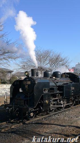 真岡鉄道,SL,もおか,下館駅,C11