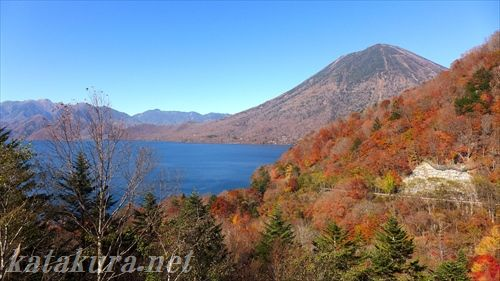 中禅寺湖,紅葉