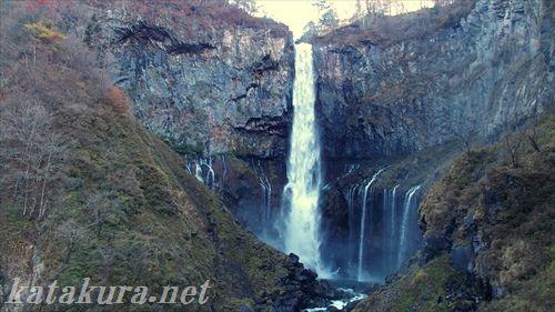 華厳の滝,華厳瀑布,日光,紅葉