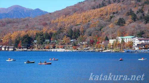 中禅寺湖,斎藤義二,紅葉