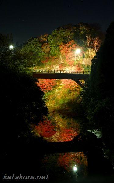 養老渓谷,紅葉,千葉県,2013