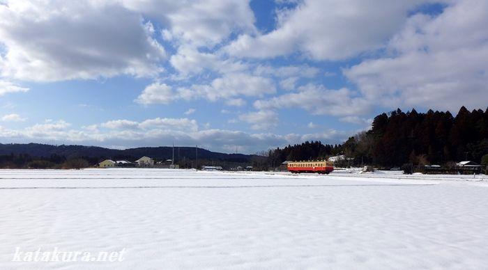 上総川間,小湊,雪景色,2014,単行