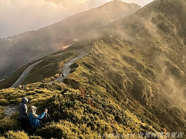 合歓山,南投県,台湾山岳,片倉佳史,台湾旅人地図帳,中央山脈,合歓合歓
