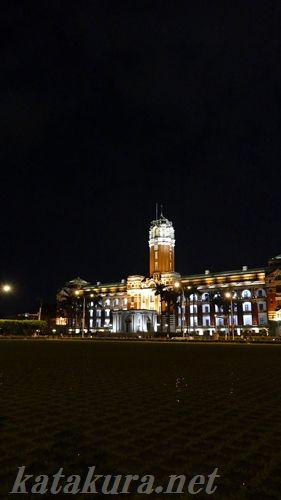 総統府,FZ1000,総督府,夜景,台北